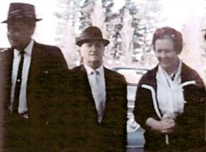 W.M. Branham with Sidney Jackson and his wife